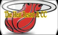 The Heat Resort & CC logo