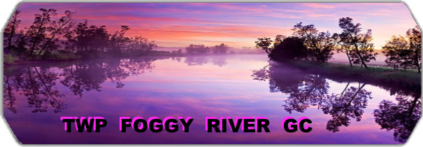 TWP Foggy River GC logo