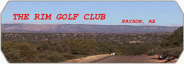 The Rim Golf Club logo