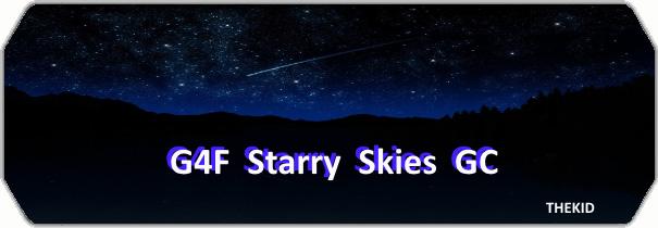 G4F Starry Skies GC logo
