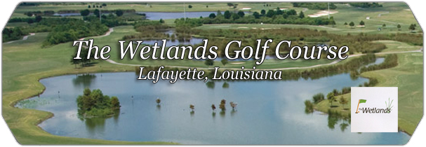 The Wetlands GC logo