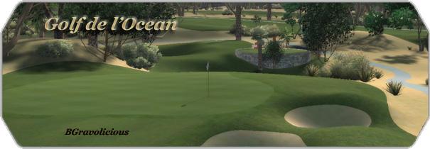 Golf de l' Ocean logo