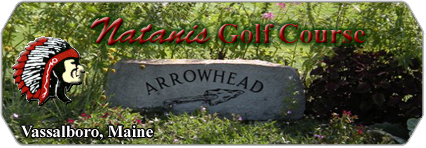Natanis Golf Course Arrowhead logo