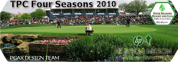PGAX TPC Four Seasons Resort 2010 logo