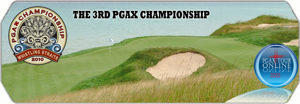 PGAX Whistling Straits 2010 logo