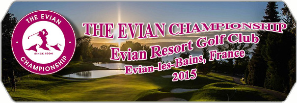 Evian Resort Golf Club 2015 logo