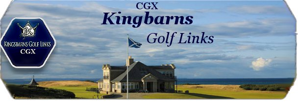 CGX Kingsbarns Links logo