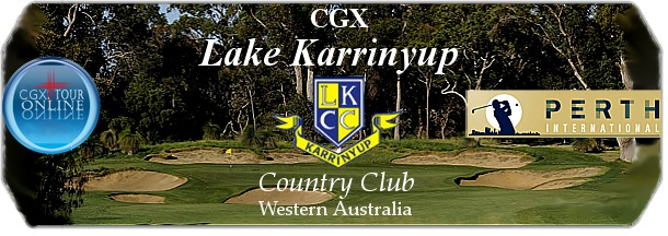 CGX Lake Karrinyup Country Club logo