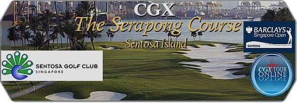 CGX Sentosa Serapong Course logo