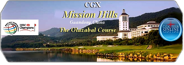 CGX Mission Hills Olazabal Course logo