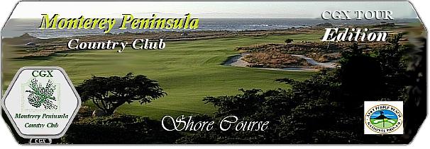 CGX Monterey Peninsula Shore Course logo
