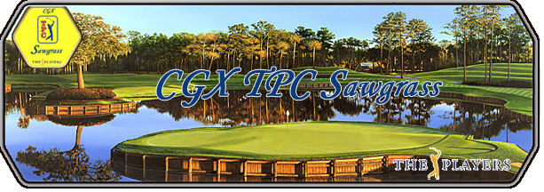 CGX TPC Sawgrass - The Players logo