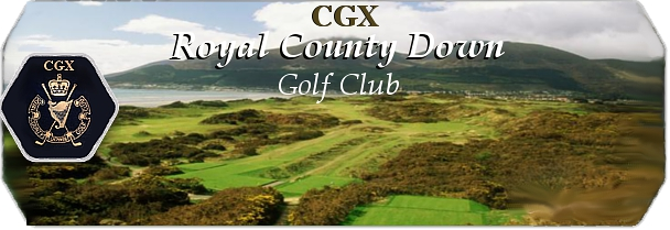 CGX Royal County Down logo