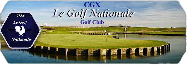 CGX Le Golf Nationale logo