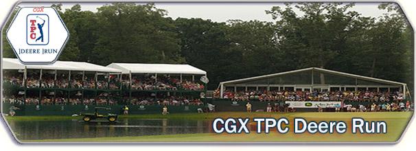 CGX TPC Deere Run logo
