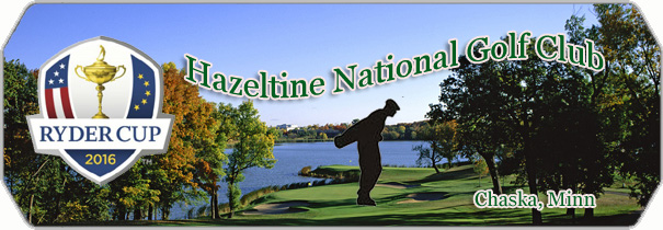 Hazeltine National Golf Club 2016 logo