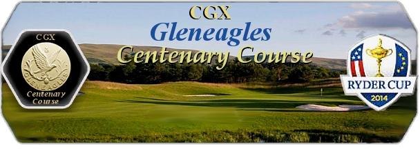 CGX Gleneagles Centenary Course logo