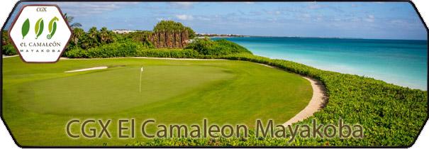 CGX El Camaleon Mayakoba logo