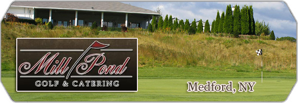 Mill Pond Golf and Catering logo