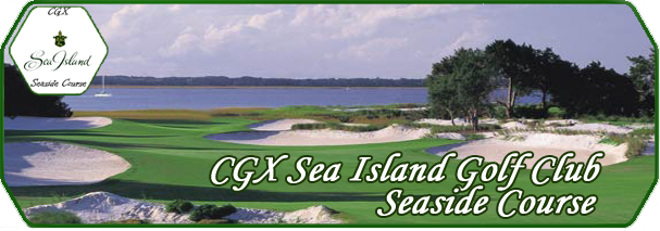 CGX Sea Island Seaside Course logo