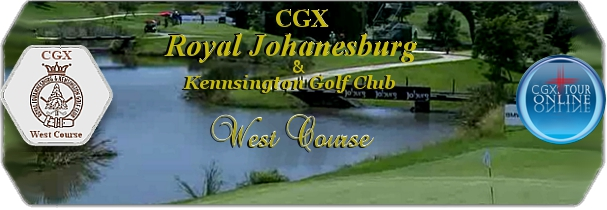 CGX Royal Joburg West Course logo