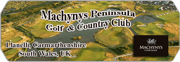 Machynys Peninsula Golf Club logo