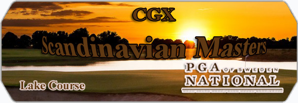 CGX PGA of Sweden National logo