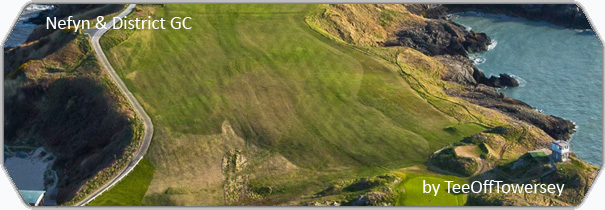 Nefyn & District Golf Club  logo