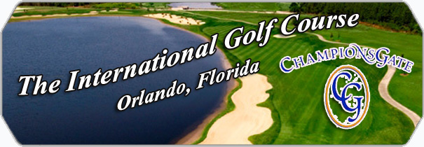 Champions Gate Golf Club International logo