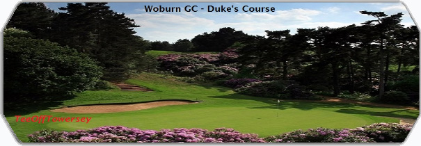 Woburn GC - The Duke logo