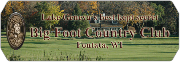 Big Foot Country Club logo