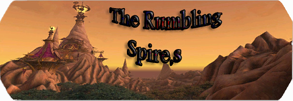 THE RUMBLING SPIRE`S logo