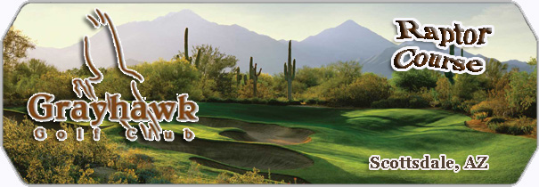 Grayhawk Golf Club Raptor  logo