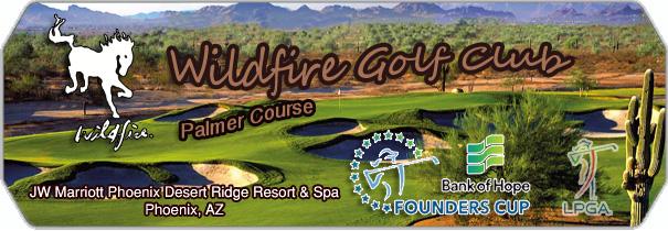 Wildfire Golf Club Palmer logo