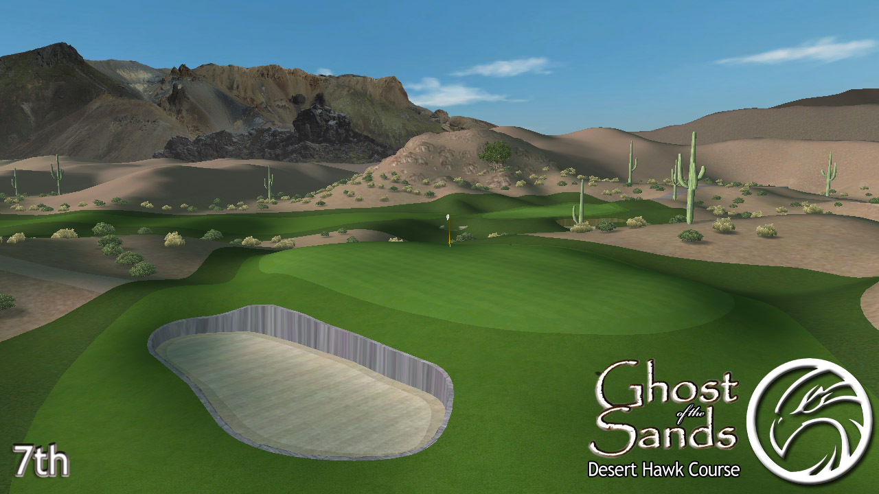 Picture of Ghost of the Sands - Desert Hawk - click to view original size