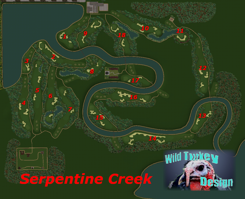 Picture of Serpentine Creek - click to view original size