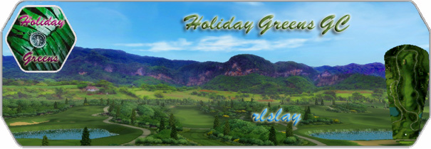 Holiday Greens GC logo