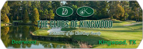 The Clubs of Kingwood  Deerwood logo