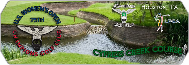 Champions Golf Club Cypress Creek logo