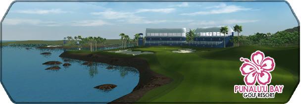 Punaluu Bay Golf Resort logo