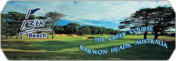13th Beach Golf Links logo