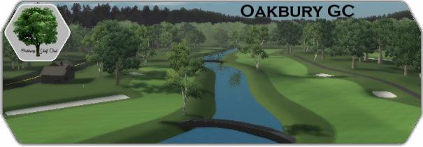 Oakbury Golf Club logo