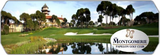 The Montgomerie Maxx Royal Golf Club logo