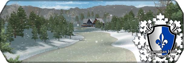Laurentian Hills in Winter logo