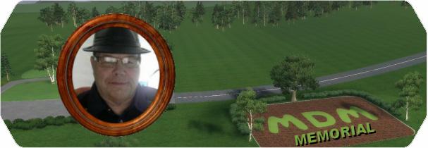 MDM Memorial Course logo