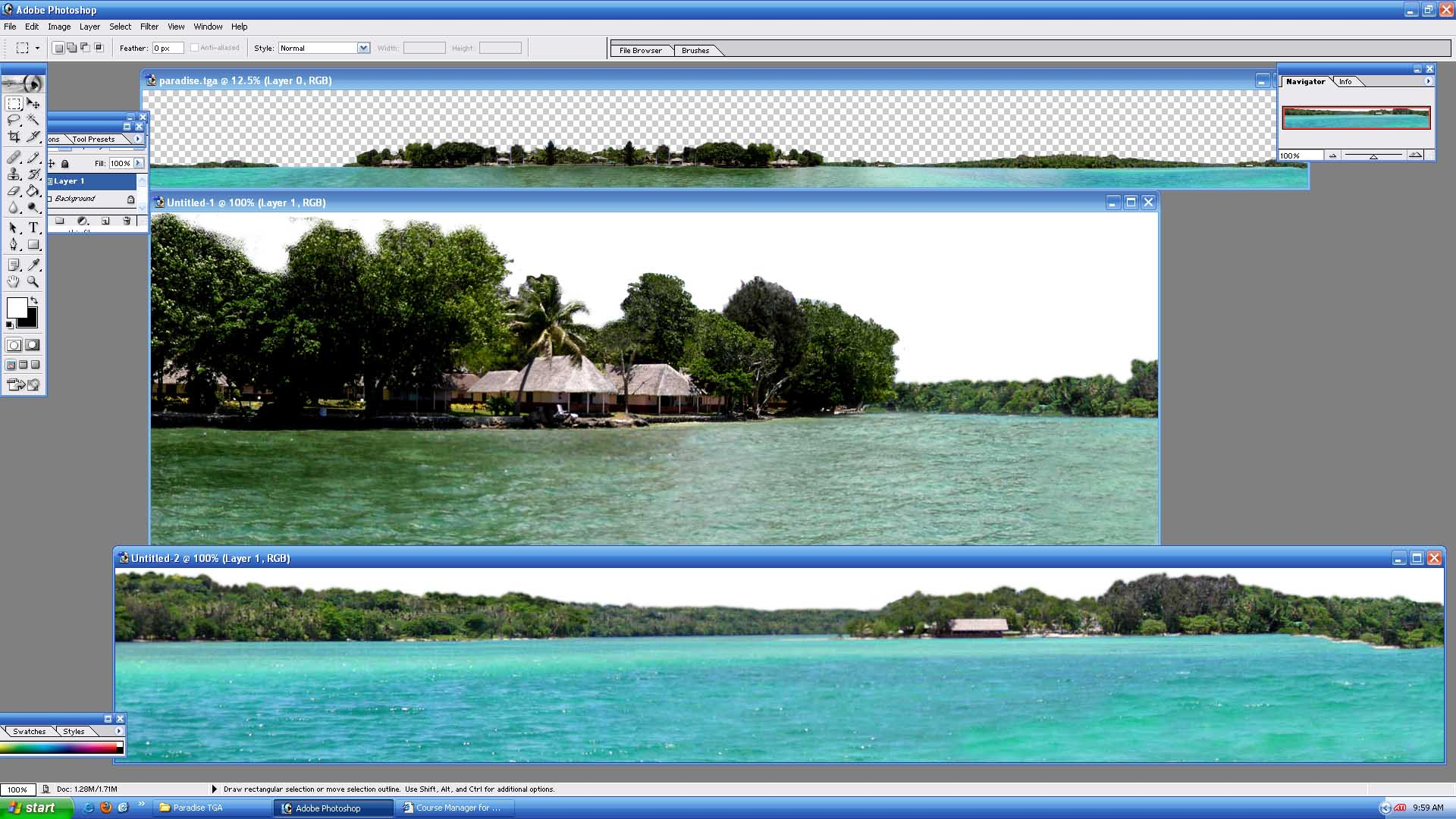 Picture of ParadiseIslandPano - click to view original size