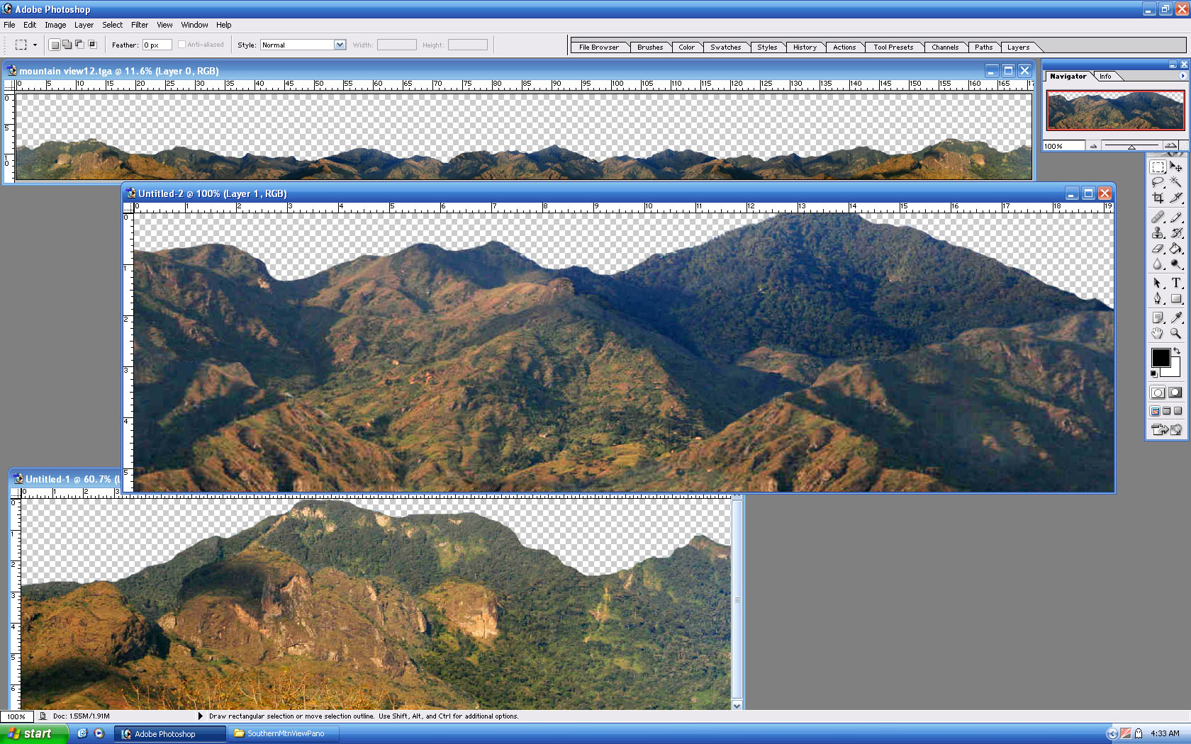 Picture of SouthernMtnsPano - click to view original size
