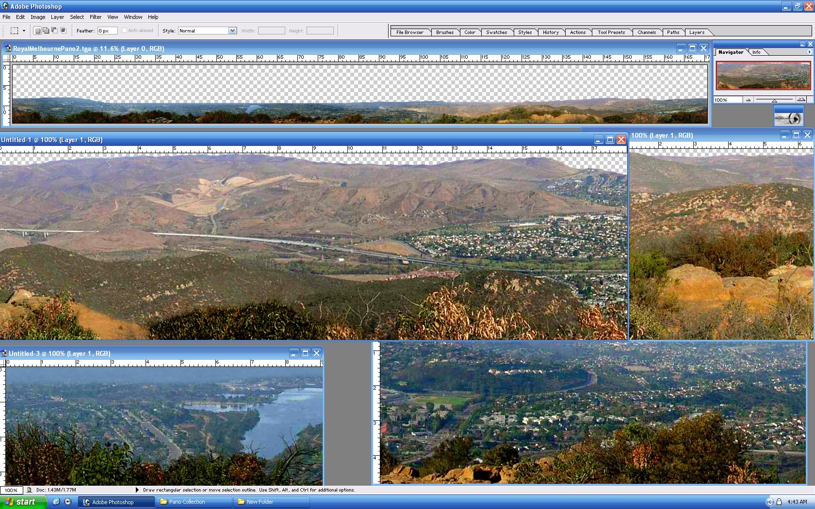 Picture of RoyalMelbournePano - click to view original size