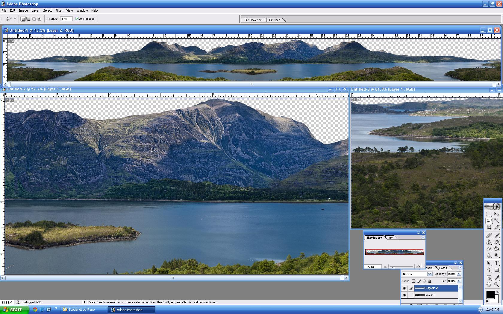 Picture of ScotlandLochPano - click to view original size
