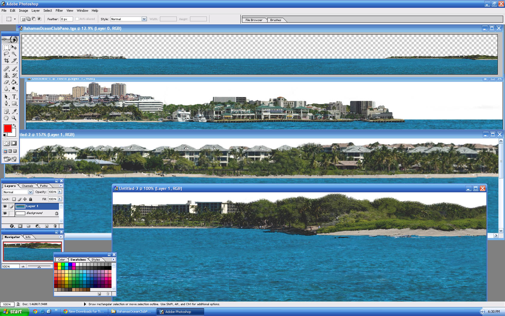 Picture of BahamasOceanClubPano - click to view original size